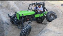 Fourwheel steering in canyon