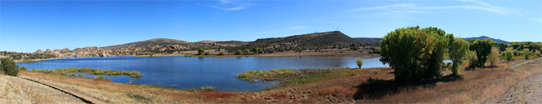 160° x 60°- Viewpoint at Willow Creek Reservoir