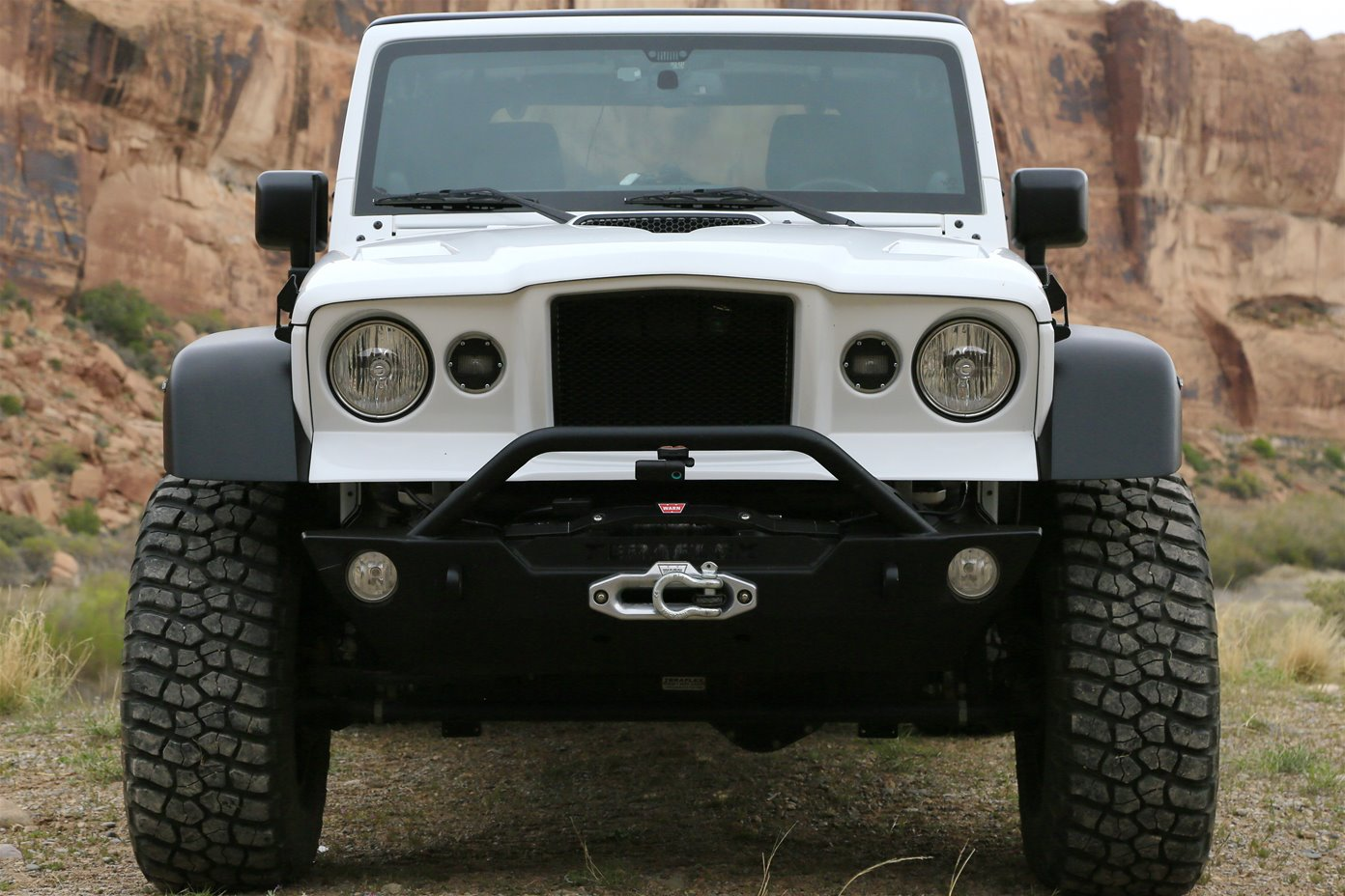 Can Light Conversion Kit >> Jeep® JK Wrangler M715© front clip kit - by Thaler Design / by Thaler Eric
