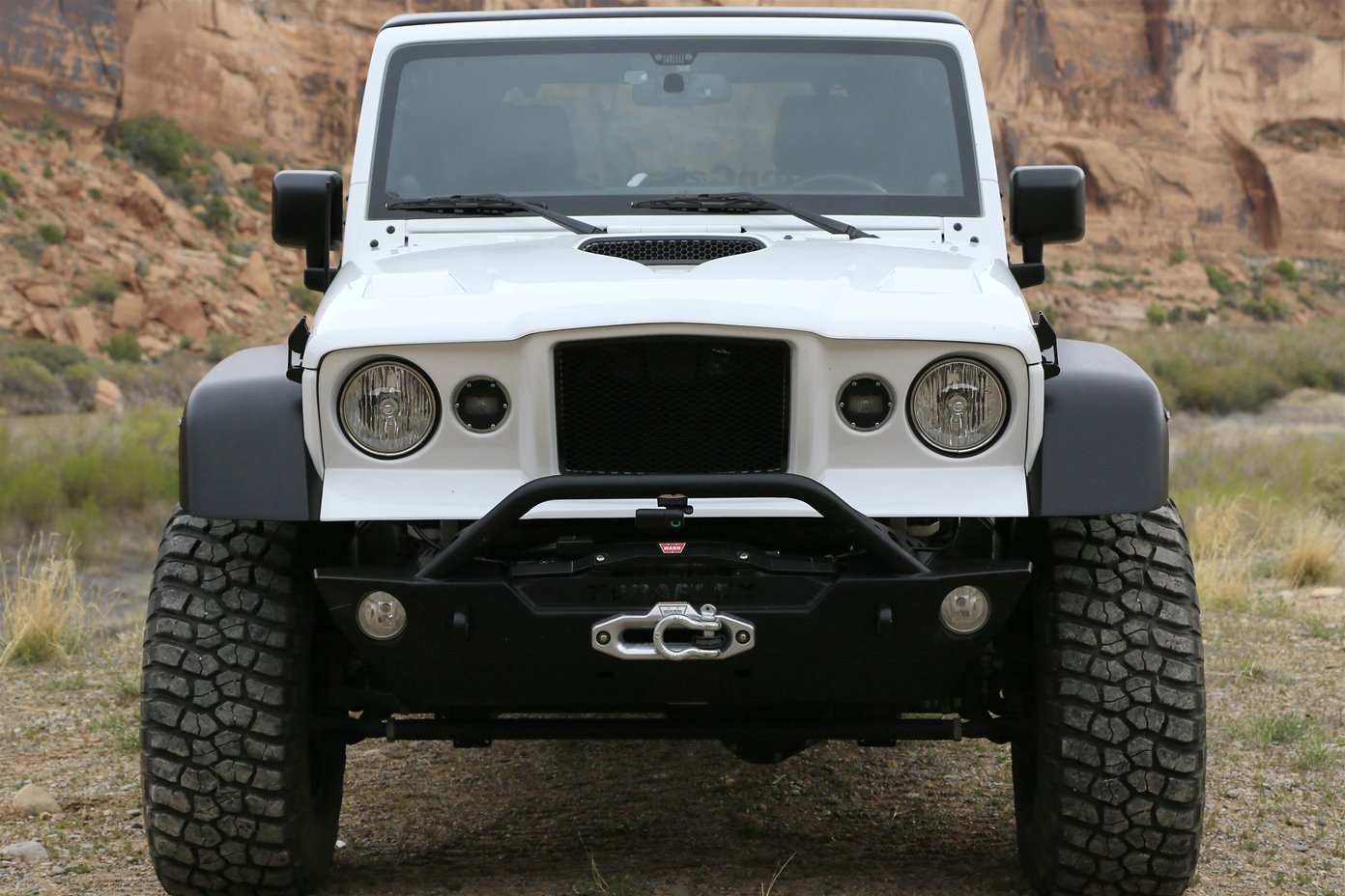 Jeep 174 Jk Wrangler M715 169 Front Clip Kit By Thaler Design